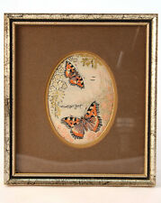 Vintage Charles Berisford 1858 Collection Butterfly Jacquard Woven Picture Weave