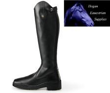 BROGINI MODENA SYNTHETIC LONG BOOTS ADULT BLACK wide or Extra wide ALL SIZES