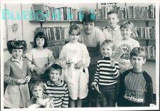 Photo Lancashire Edisford School 1st Children in New Library 1986