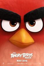 "THE ANGRY BIRDS MOVIE 11""x17"" Original Promo Movie Poster MINT 2016"