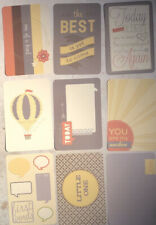 """Scrapbooking Journal pages set of 8 ~ Baby book Newborn 10x15"""""""