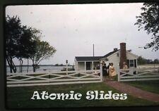 1961 kodachrome Photo slide Holiday House Virginia  VA