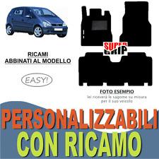 TAPPETI AUTO SU MISURA PER MERCEDES CLASSE A W168 LUNGA MOQUETTE + RICAMO EASY