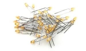 LED diode, Ø 3mm, yellow, 250 mcd (20 pieces)