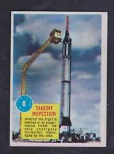 1963 TOPPS POPSICLE SPACE CARD #8 TAKEOFF INSPECTION - NM/MT