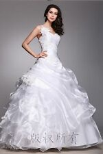 New Robe de mariée mariage soirée wedding evening dress++++++++++