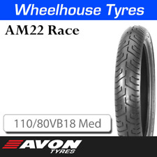 Avon AM22 Race Rear 110/80VB18 Medium 13332C N.H.S