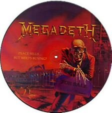 Megadeth, Peace Sells..But Who's Buying?, NEW/MINT Orig UK PICTURE DISC VINYL LP