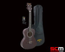 LKPPT Kohala Tenor Ukulele Pack Strung w/Aquila Uke  Strings Padded Bag & Tuner