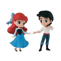 Disney Q Posket Petit Fantastic Time 2 Mini Figure Set - Ariel & Prince Eric