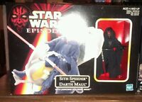 Star Wars Episode 1 Phantom Menace Sith Speeder with Darth Maul Figure