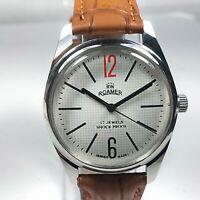 Vintage Roamer Mechanical Hand Winding Movement Mens Analog Wrist Watch AB351