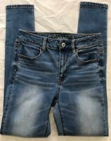 AMERICAN EAGLE OUTFITTERS WOMEN'S SUPER STRETCH HI RISE JEGGING SIZE 4 REGULAR