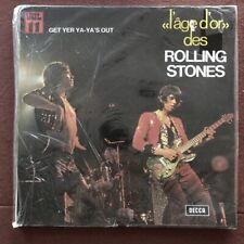 ROLLING STONES - L'Age D'Or Des - Get Yer YA YA's Out  -  SEALED vinyl vol 11