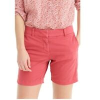 Pre-Owned J.Crew Lighthouse Red Andie Shorts Womens Size 0