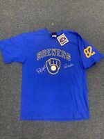 Robin Yount & Paul Molitor Milwaukee Brewers Autographed Cooperstown shirt COA