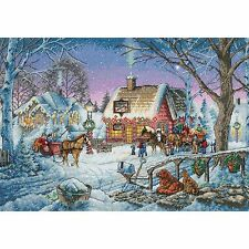 Sweet Memories Christmas 8816 Counted Cross Stitch Kit Dimension Gold Kit