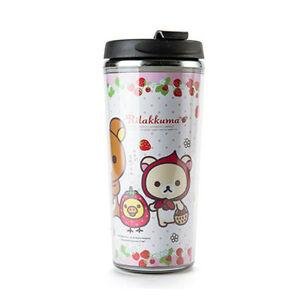 Cute Rilakkuma Stainless Steel Insulated Tumbler Cup Travel Mug Keep Warm & Cool