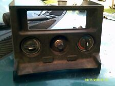 MG MGB RADIO CONSOLE HEATER DEFROSTER CONTREOL KNOBS LOADED 77-80
