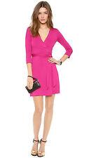 "NWT $285 Diane Von Furstenberg DVF ""New Julian Two Mini"" Wrap Dress 14"