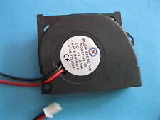 2 pcs Brushless DC Blower Fan 5V 4010S 50x40x10mm 2pin Sleeve-bearing