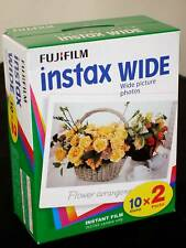 Fujifilm Instax Large 8 Films pour 80 Photos Mhd / Date D'Expiration 09/2019