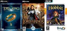 El Señor De Los Anillos Retorno Del Rey & comunidad del anillo y el hobbit