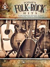 Today's Folk Rock Hits Sheet Music Guitar Tablature Book NEW 000130449