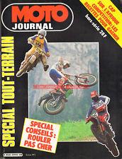 MOTO JOURNAL HS Spécial Tout-Terrain 1984 Trucs Guide Pratique Conseil Off Road