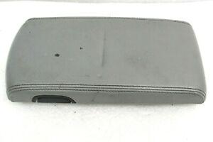 Dodge Durango Aspen center console armrest lid gray leather OEM 04-09 GOOD TAB