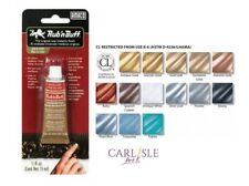 Amaco Rub 'n Buff Metallic Finishes Choose Your Colour By One