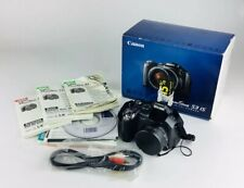 Canon PowerShot S3 IS 6.0MP Digital Camera - Black With Box And Manuals