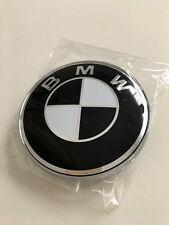 BMW 82mm Emblem  Motorhaube 51 148 132 375 NEU! Schwarz/Weiß