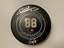 0d8a2d745 New ListingEric Lindros Game Used Puck 1 18 18 Retirement Night Meigray  Autographed.  400.00. Team  Washington Capitals