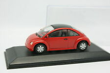 Minichamps 1/43 - VW New Beetle Rouge