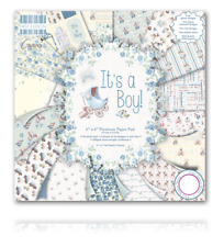 IT'S A BOY! - 6x6 Paper Pad - 64 Sheets - First Edition - Stunning
