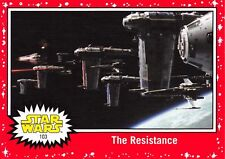 Star Wars Journey to The Last Jedi TARGET RED Parallel Base Trading Card #103