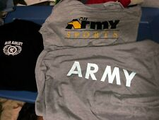 New listing 3 Different Us Army Pt Training Sports Airlift Afghanistan Shirts Xlarge