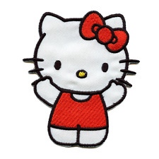 Hello Kitty In Swimsuit Iron On Embroidered Patch