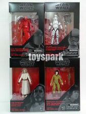 "star wars Black Series 3.75"" The Last Jedi 4 LUKE EXECUTIONER ROSE GUARD walmart"