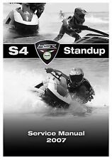 Benelli Service Workshop Manual 2007 HSR S4 Standup Jet Ski