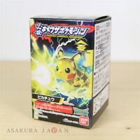 Pokemon HISSATSU! KIMEWAZA POKEMOTION #1 Pikachu Mini Figure Japan