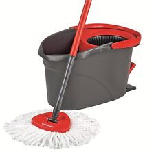 Vileda Microfibre Mop and Bucket with Power Spin Wringer - FREE P&P