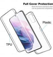 360° Transparent Protective Case For Samsung Galaxy A20E