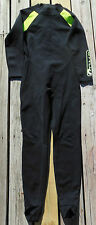 COMP WETSUIT FULL BODY WOMENS SIZE 11/12 BLACK/ LIME GREEN, FREE SHIPPING !