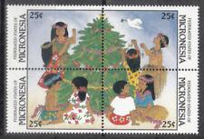 Mikronesien / Micronesia Nr. 97-100** Weihnachten 1988
