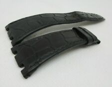 Audemars Piguet 26mm Black Alligator Strap OEM Genuine for Royal Oak Offshore
