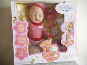 VINTAGE  BABY  BORN    BRAND NEW IN BOX (FREE POSTAGE)