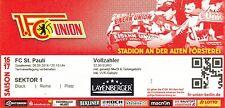 Sammler TICKET 2. BL 2016/17 Union Berlin - FC St. Pauli