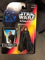 Hasbro Star Wars Power Of The Force Jedi Knight Luke Skywalker Black Vest